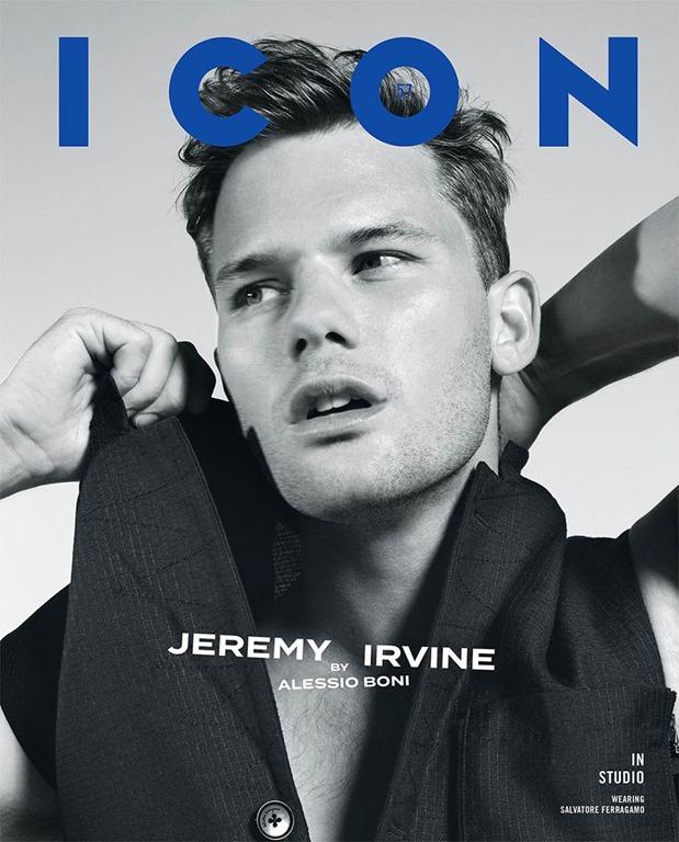 Jeremy Irvine for IconMagazine